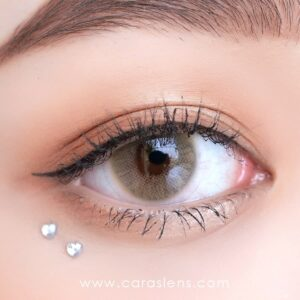 caraslens-bubbly-brown